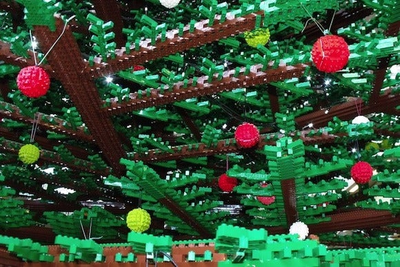lego christmas holiday tree
