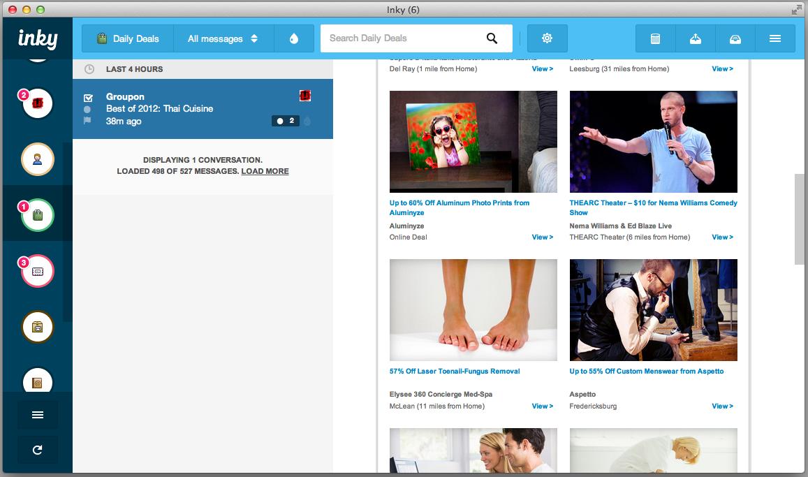 Inky for Mac OS X screenshot