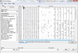Disk Investigator 1.31 screenshot