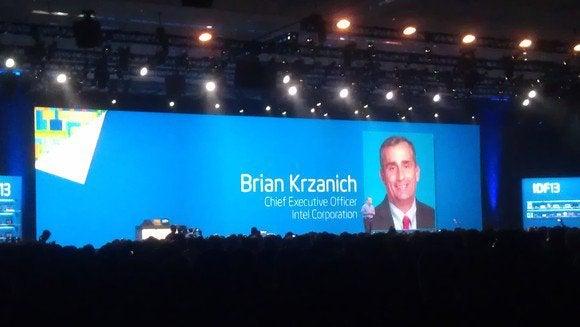 Brian Krzanich Intel