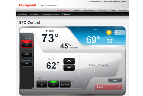 Honeywell Wi-Fi Smart Thermostat review: Call it the anti-Nest ...