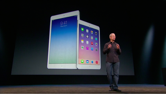 Tim Cook and new iPads