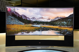 lg 105 inch curved tv