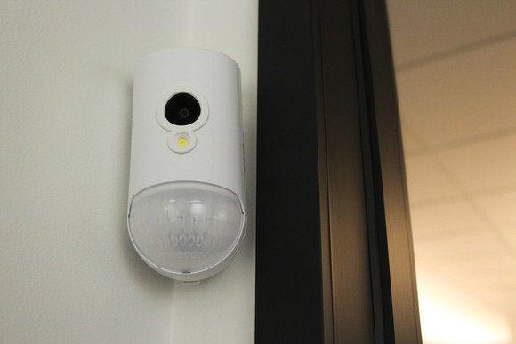 viper camera and motion sensor mounted