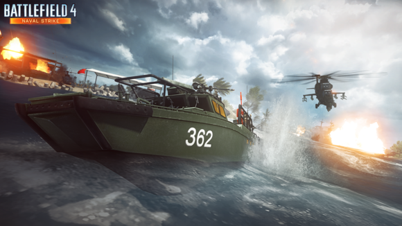 battlefield 4 naval strike attackboat wm