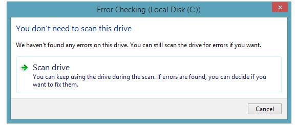 check disk win8