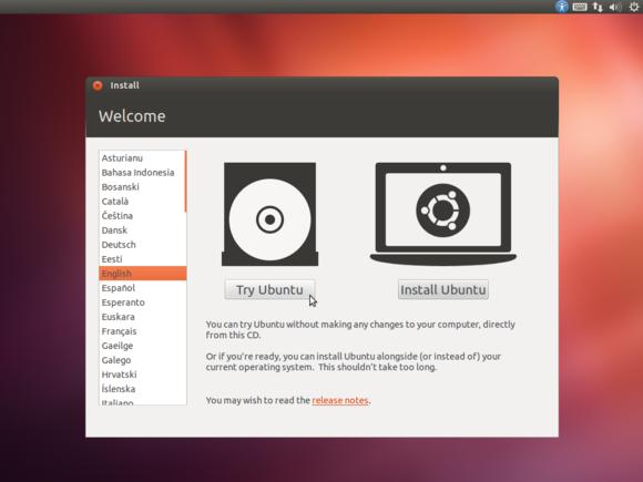 2 de arranque de Ubuntu medios en vivo