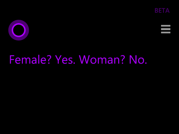 are you male or female