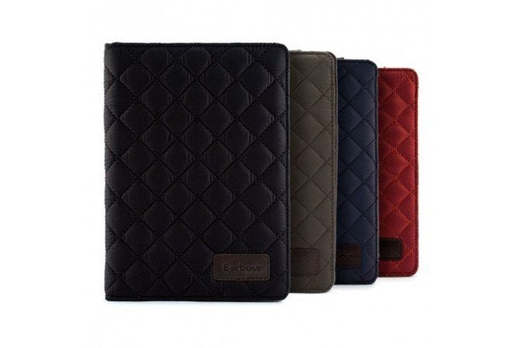 barbour quilted ipad