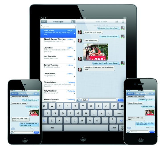 imessage ipodtouch ipad iphone4s print 287975