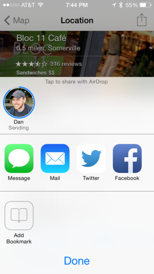 ios7tips airdrop