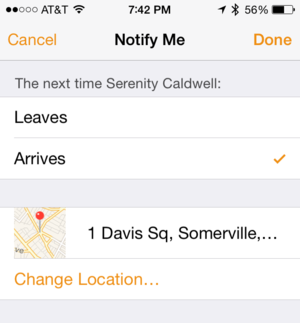 ios7tips fmf notify