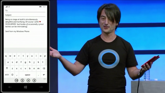 ms build 2014 windows phone typing joe belfiore