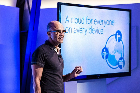 Satya Nadella Office iPad launch