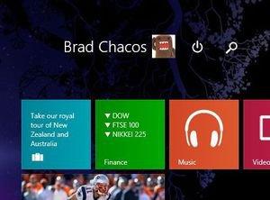 start screen buttons