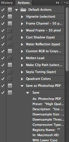 stepup iphoto photoshop actions