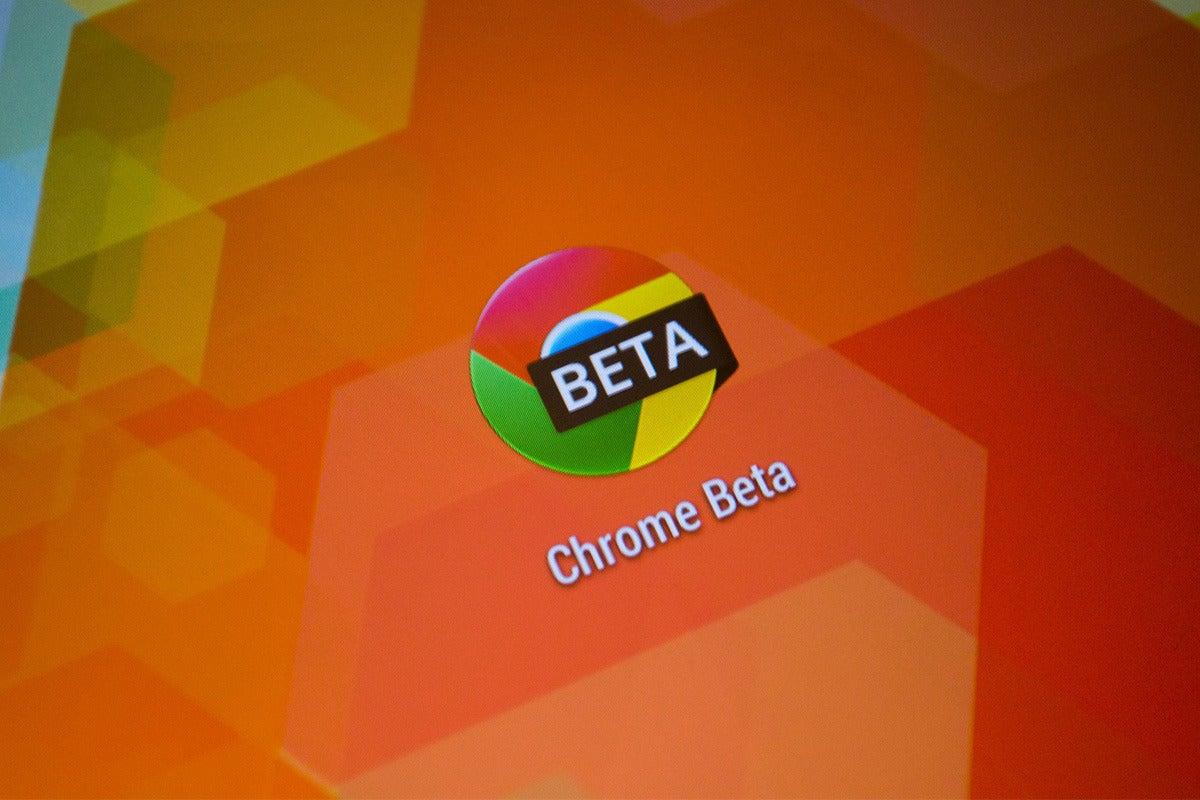 android chrome beta