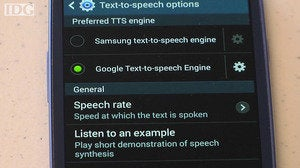 android speech poster