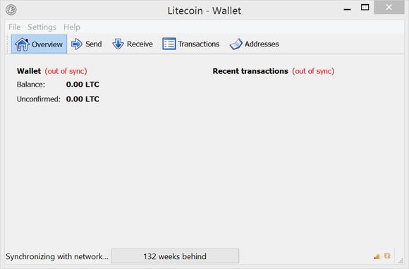 first run litecoin