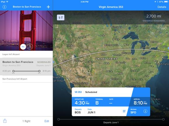 flighttrack details