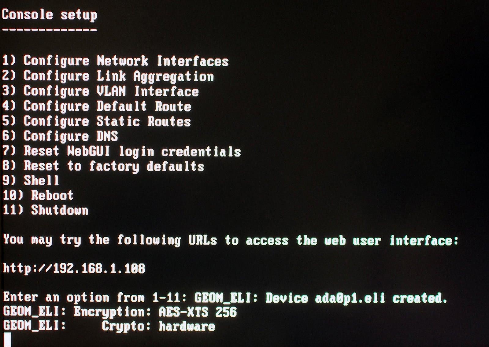 How To Use Freenas To Set Up A Home Server