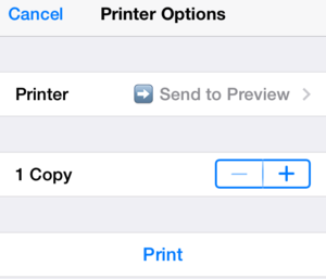 ios 7 print pdf printopia