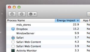 ios 8 wish list energy use