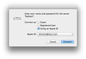 osx appleid