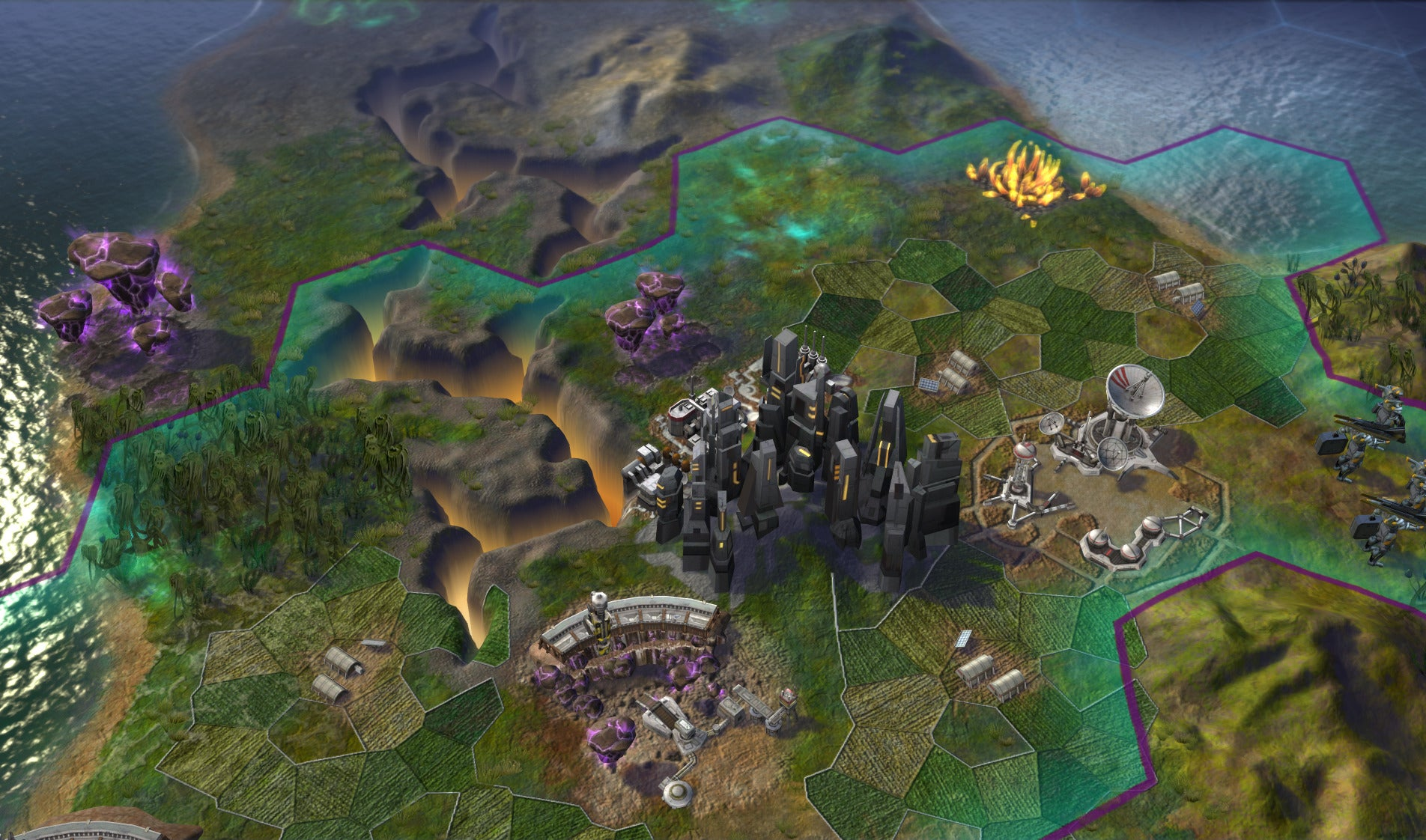 hands on preview civilization beyond earth isn 39 t alpha centauri 2 but it totally is pcworld. Black Bedroom Furniture Sets. Home Design Ideas