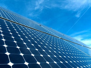 solar panel 136160650