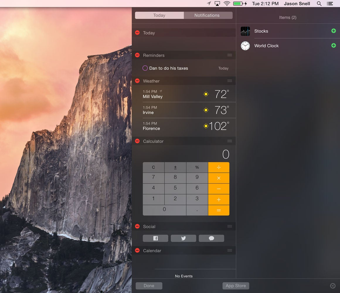 edit notification center