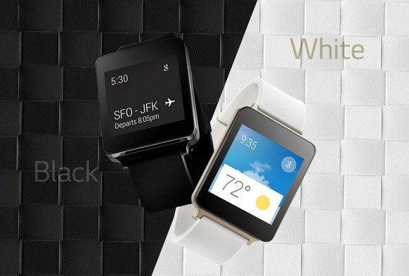 g watch white black