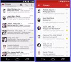 Android L gmail old and new