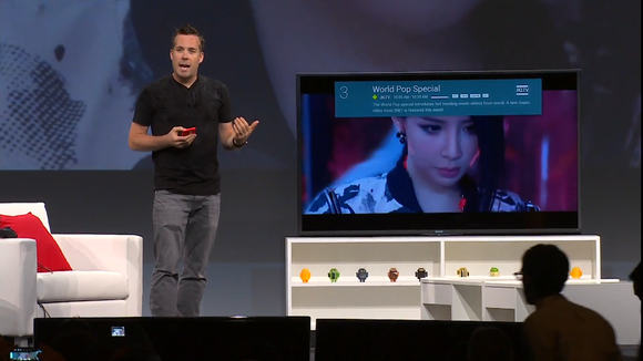 google io android tv music