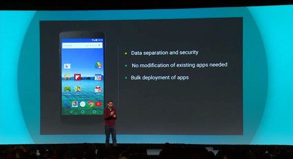 google io android l work