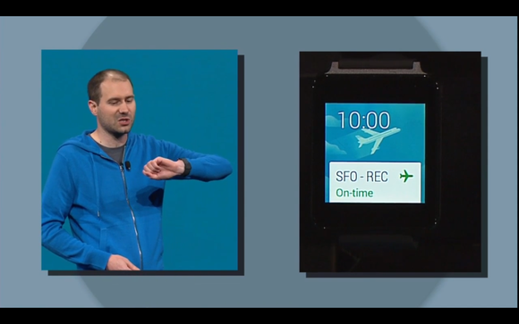 google io android wear google now