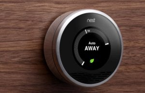 nest thermostat auto away