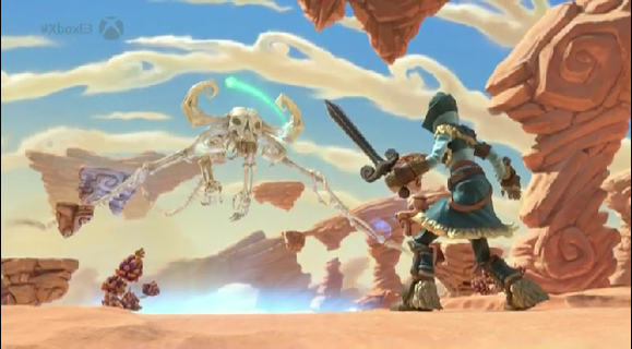 project spark desert of death
