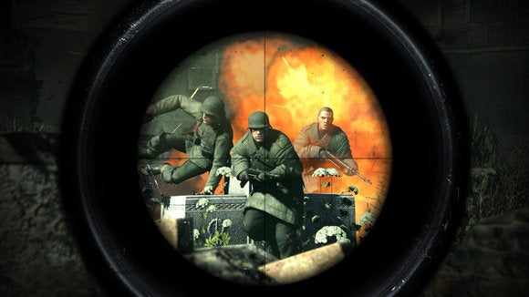 sniper elite v2 scope