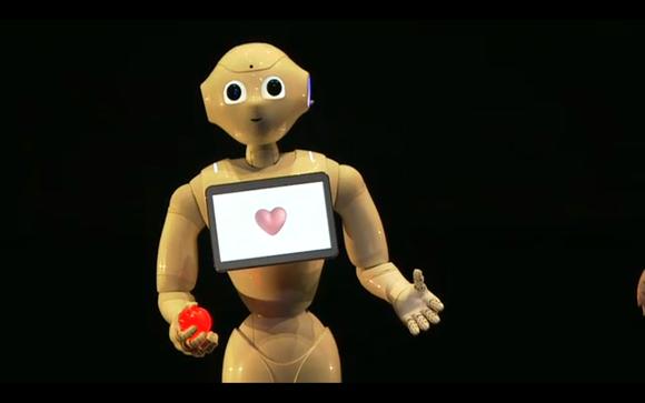 Sotbank's pepper robot