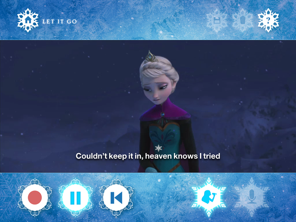 staffpicks frozen karaoke app 2