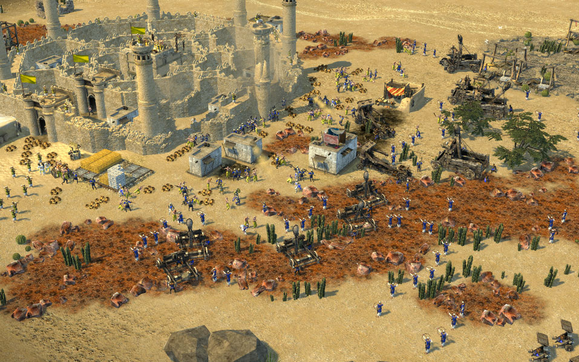 stronghold crusader 2 warfare