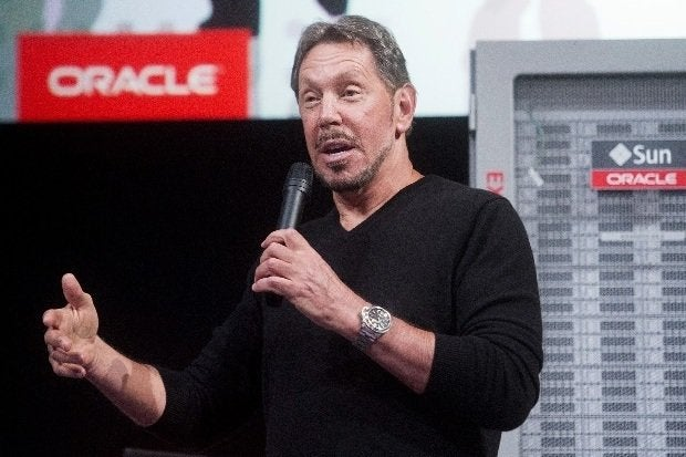 Oracle CEO Larry Ellison steps down as CEO;  Catz, Hurd named co-CEOs