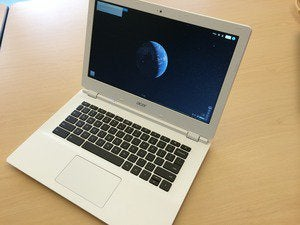 acer chromebook 13 open three qtr detail july 2014