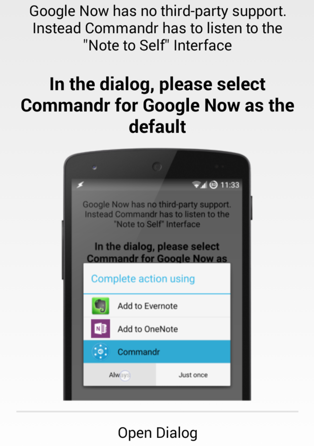 commandropendialog