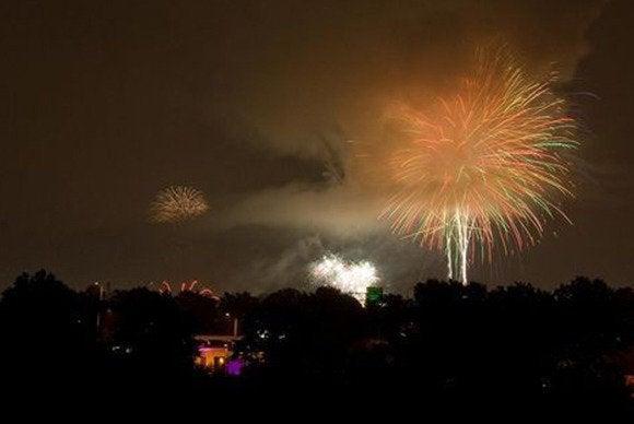 fireworks slide opener