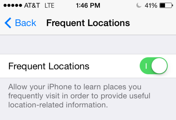 frequent locations