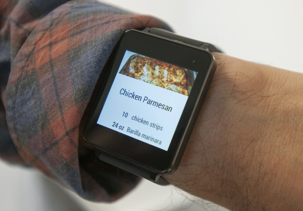 LG G Watch review: A dull container for Google's exciting new smartwatch OS | PCWorld