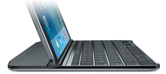 logitech ultrathin magnetic clip on keyboard cover