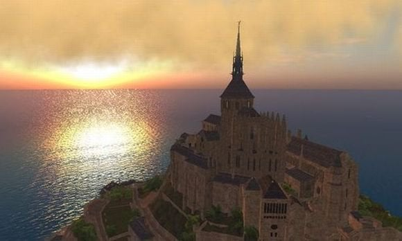 mont saint michael second life
